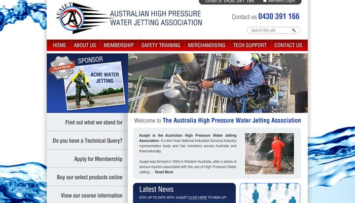 australia High Pressure Water Jetting Association